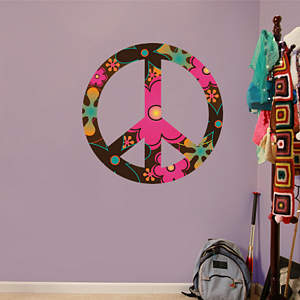 Jumbo Peace Sign Fathead Wall Decal