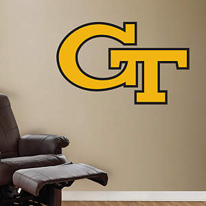 Georgia Tech Logo Fathead Wall Decal