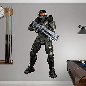 Battle Ready Master Chief: Halo 4 Fathead Wall Decal