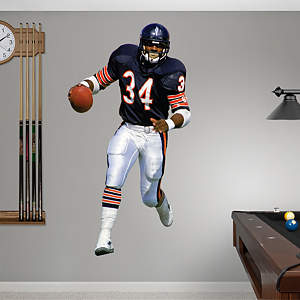 Walter Payton Fathead Wall Decal