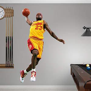 LeBron James Throwback - 2009 MVP Fathead Wall Decal