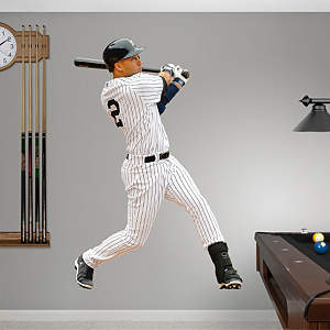 Vinyl Mural Wall Decal of Derke Jeter