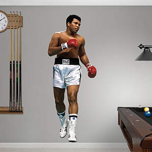 "Muhammad Ali ""The Greatest"" Fathead Wall Decal"