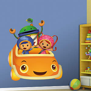 Team Umizoomi in UmiCar Fathead Wall Decal