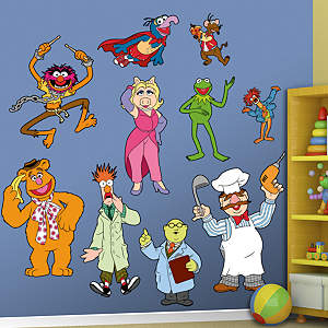 The Muppets Fathead Wall Decal