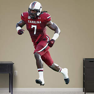 Life Size Jadeveon Clowney Fathead Wall Decal
