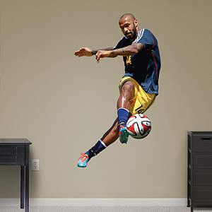 Thierry Henry Fathead Wall Decal