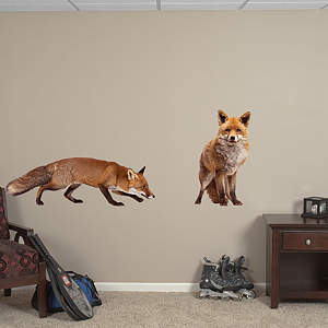 Fox Fathead Wall Decal