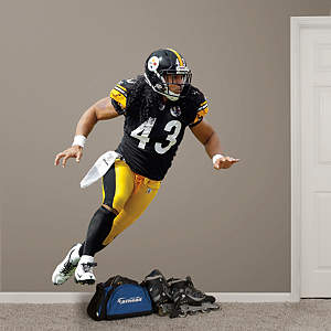 Troy Polamalu - Home Fathead Wall Decal