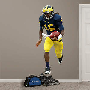 Denard Robinson Michigan Fathead Wall Decal