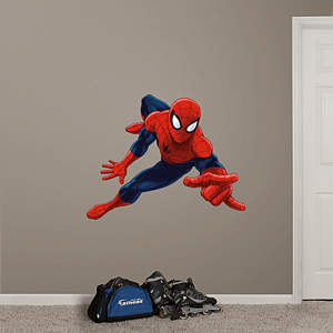 Ultimate Spider-Man Fathead Wall Decal