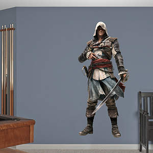 Edward: Assassin's Creed IV Fathead Wall Decal