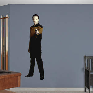 Lieutenant Commander Data  Fathead Wall Decal