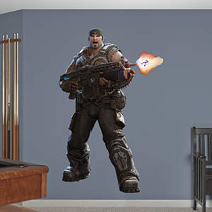 Gears of War 3: Marcus Fathead Wall Decal