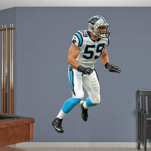 Luke Kuechly   Fathead Wall Decal