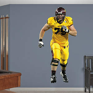 Eric Fisher Central Michigan Fathead Wall Decal