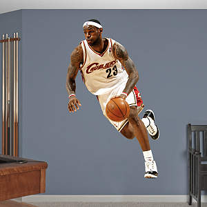 Fathead Vinyl Wall Mural of LeBron James