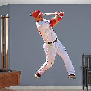 Vinyl Mural Wall Decal of Mike Trout