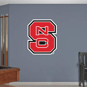 NC State Wolfpack Logo Fathead Wall Decal