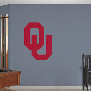 Oklahoma Sooners Logo Fathead Wall Decal