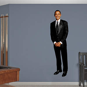 President Barack Obama Fathead Wall Decal