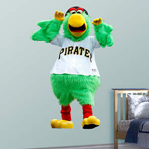 Pittsburgh Pirates Mascot - Pirate Parrot  Fathead Wall Decal