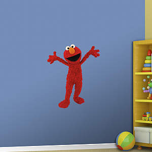 Elmo Fathead Wall Decal