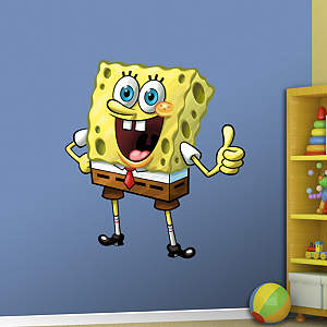 SpongeBob SquarePants Fathead Wall Decal