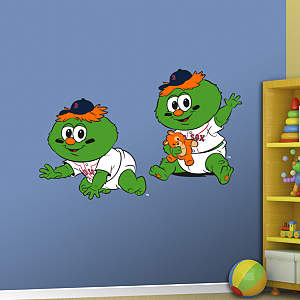 Boston Red Sox Baby Mascot Fathead Wall Decal