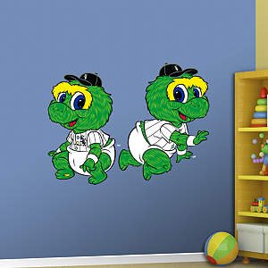 Chicago White Sox Baby Mascot Fathead Wall Decal