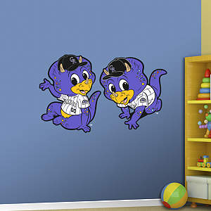 Colorado Rockies Mascot - Rookie League Fathead Wall Decal