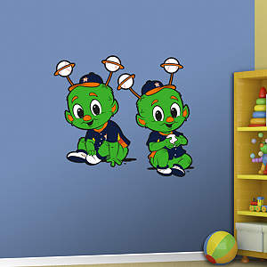 Houston Astros Baby Mascot Fathead Wall Decal