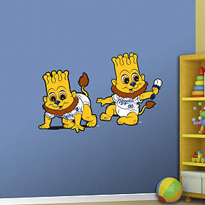 Kansas City Royals Baby Mascot Fathead Wall Decal