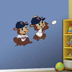 Minnesota Twins Mascot - Rookie League Fathead Wall Decal