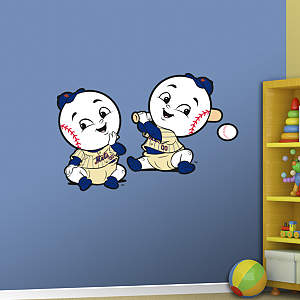 New York Mets Baby Mascot Fathead Wall Decal