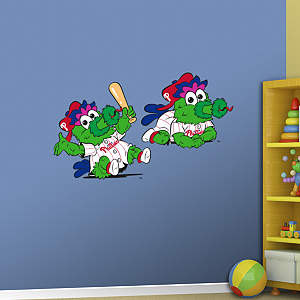 Philadelphia Phillies Mascot - Rookie League Fathead Wall Decal