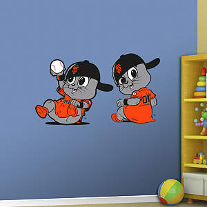 San Francisco Giants Mascot - Rookie League Fathead Wall Decal