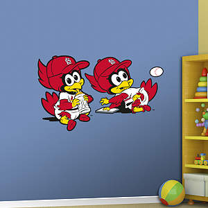 St. Louis Cardinals Mascot - Rookie League Fathead Wall Decal