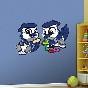 Toronto Blue Jays Baby Mascot Fathead Wall Decal