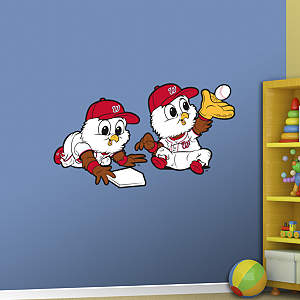 Washington Nationals Mascot - Rookie League Fathead Wall Decal