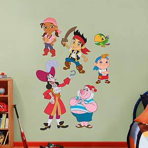Disney Jake and the Neverland Pirates Collection Fathead Wall Decal