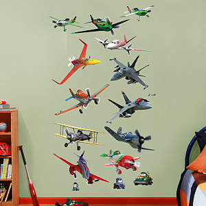 Planes Collection Fathead Wall Decal