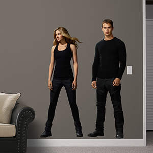 Tris & Four Fathead Wall Decal