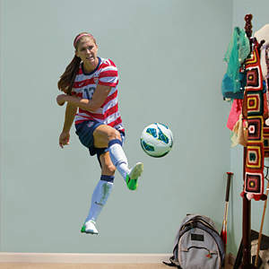 Alex Morgan - Shot on Goal Fathead Wall Decal