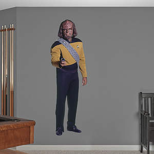 Lieutenant Worf  Fathead Wall Decal
