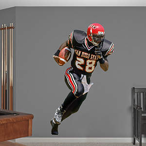 Marshall Faulk San Diego State Fathead Wall Decal