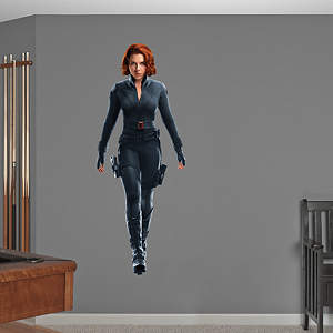 Black Widow: Avengers Live Action Photo  Fathead Wall Decal