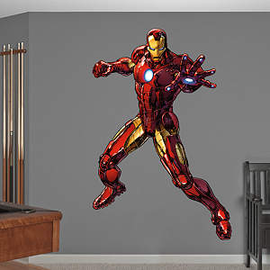 Iron Man - Avengers Assemble Fathead Wall Decal