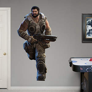 Gears of War 3: Dom Fathead Wall Decal