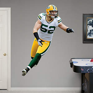Clay Matthews Fathead Wall Decal